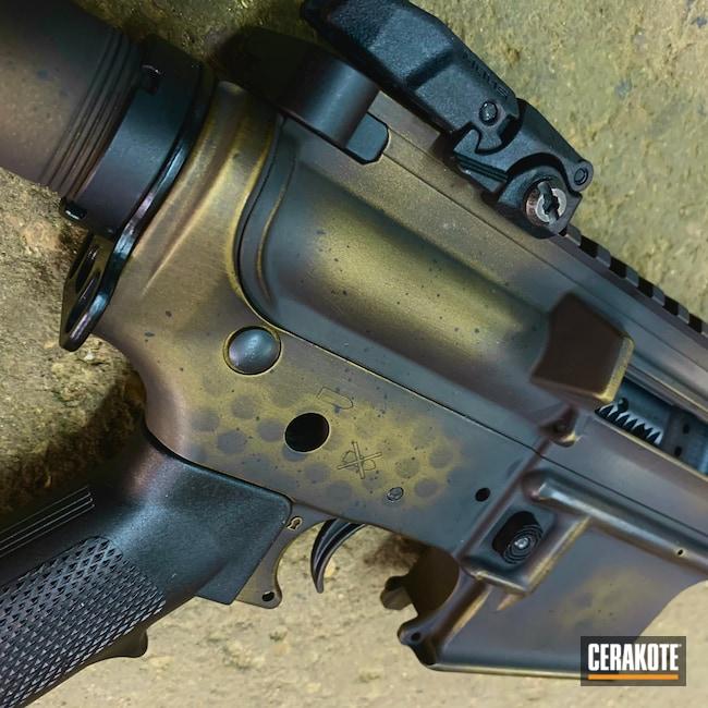 Cerakoted: S.H.O.T,Graphite Black H-146,AR,Burnt Bronze H-148,.223,AR Build