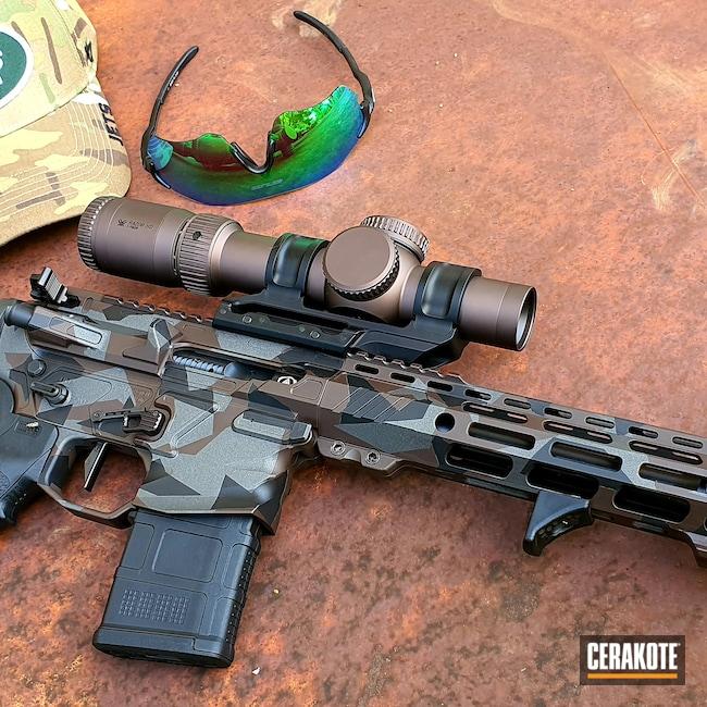 Cerakoted: S.H.O.T,VORTEX® BRONZE H-293,Tungsten H-237,Armor Black H-190,.223