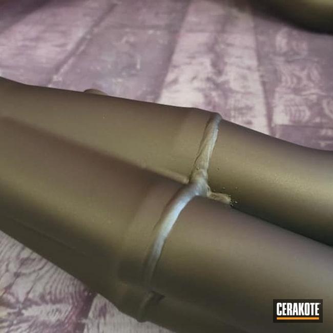 Cerakoted: Exhaust Coating,Burnt Bronze C-148,Headers,Automotive,Automotive Exhaust,Exhaust Pipes,High Temperature
