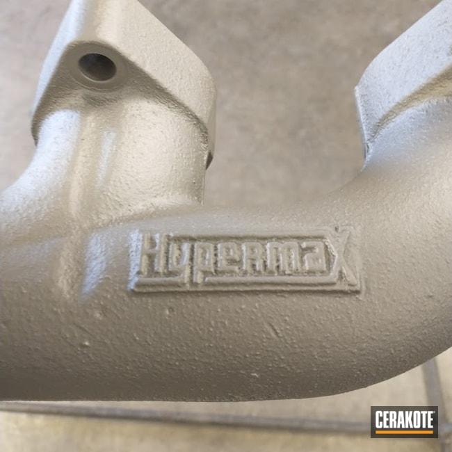 Cerakoted: CERAKOTE GLACIER TITANIUM C-7900,Automotive,Exhaust Manifold