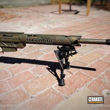Remington 700 Cerakoted Using Magpul® O.d. Green And Burnt Bronze
