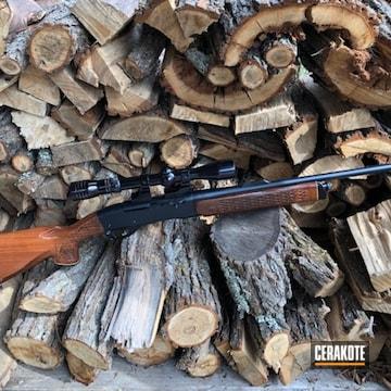 Remington 742 Cerakoted Using Midnight Blue