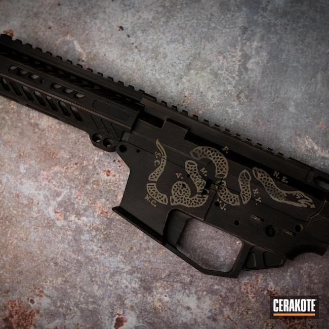 Cerakoted: S.H.O.T,AR15 Builders Kit,Burnt Bronze H-148,Armor Black H-190