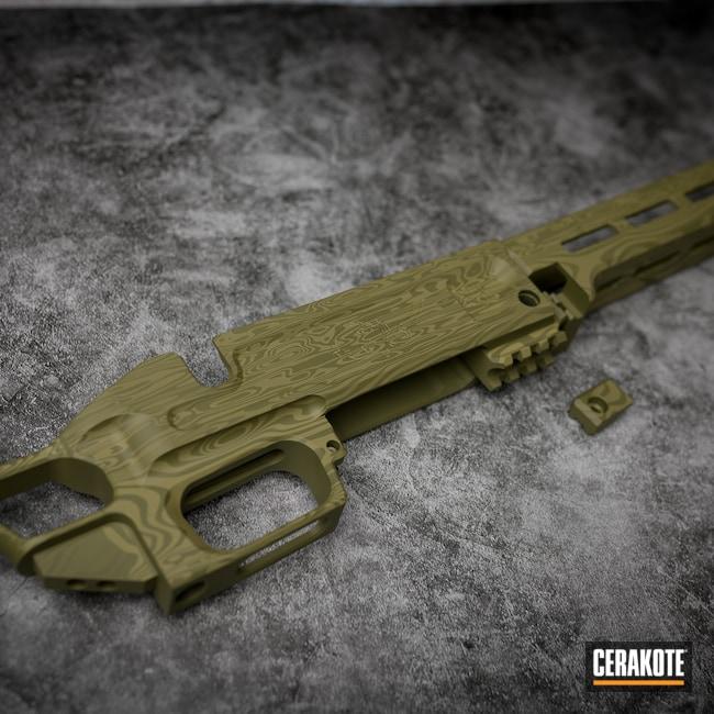 Cerakoted: S.H.O.T,Rifle,Noveske Bazooka Green H-189