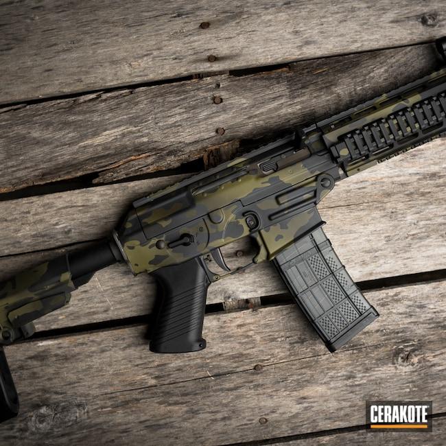 Cerakoted: S.H.O.T,Sniper Grey H-234,Armor Black H-190,O.D. Green H-236,Noveske Bazooka Green H-189