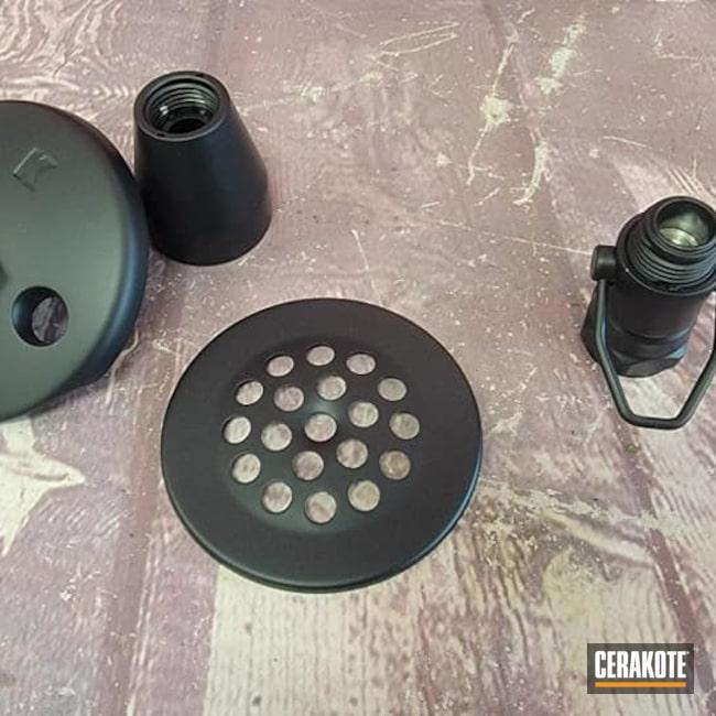 Cerakoted: Household,Bath Accessories,Bathroom,CERAKOTE GLACIER BLACK C-7600