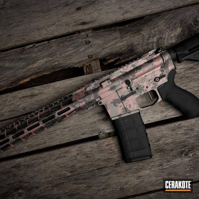 Cerakoted: S.H.O.T,Tungsten H-237,Titanium H-170,ROSE GOLD H-327,AR Build