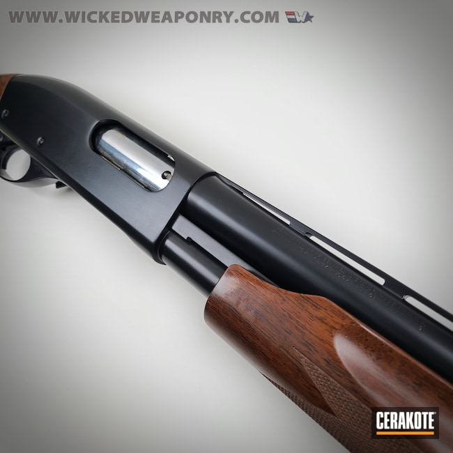 Cerakoted: S.H.O.T,Shotgun,BLACKOUT E-100,Pump-action Shotgun