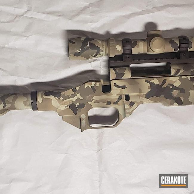 Cerakoted: S.H.O.T,Rifle,Coyote Tan H-235,Ruger,Bolt Action,Patriot Brown C-226,Graphite Black H-146,Desert Sand H-199,BENELLI® SAND H-143,Desert Multi Cam,MVP,Plum Brown H-298