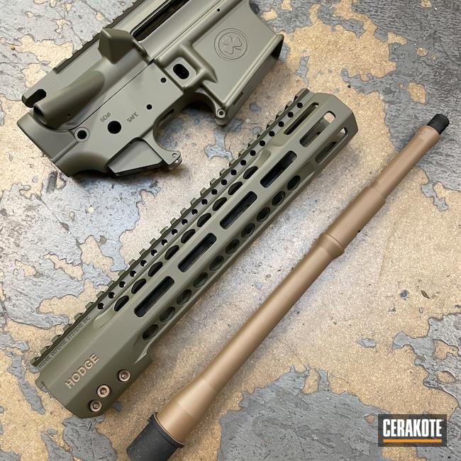 Cerakoted: S.H.O.T,Hodge Defense,Upper / Lower,20150 E-190,Color Fill,HDSI,Barrel,Upper / Lower / Handguard,MOSS E-210,Hodge Deffense Systems,AR-15