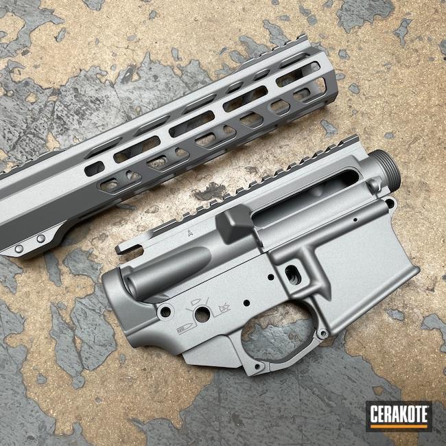 Cerakoted: S.H.O.T,Upper / Lower,Titanium E-250,SOLGW,AR15 Builders Kit,Sons of Liberty Gun Works,Upper / Lower / Handguard,AR-15