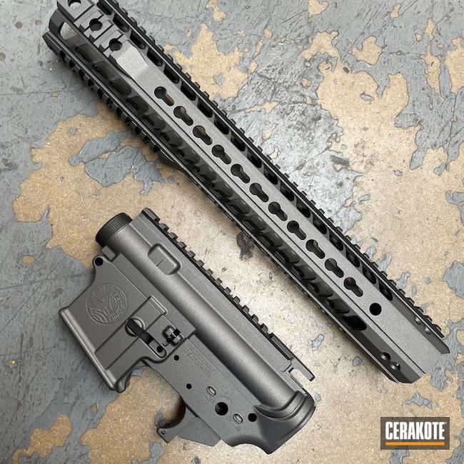 Cerakoted: S.H.O.T,Upper / Lower,Battle Arms Development,Upper / Lower / Handguard,Tungsten H-237,Battle Arms,AR-15