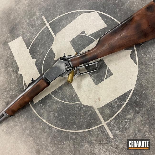 Cerakoted: S.H.O.T,Marlin,1894,MATTE CERAMIC CLEAR MC-161,Lever Action,Marlin Model 1894