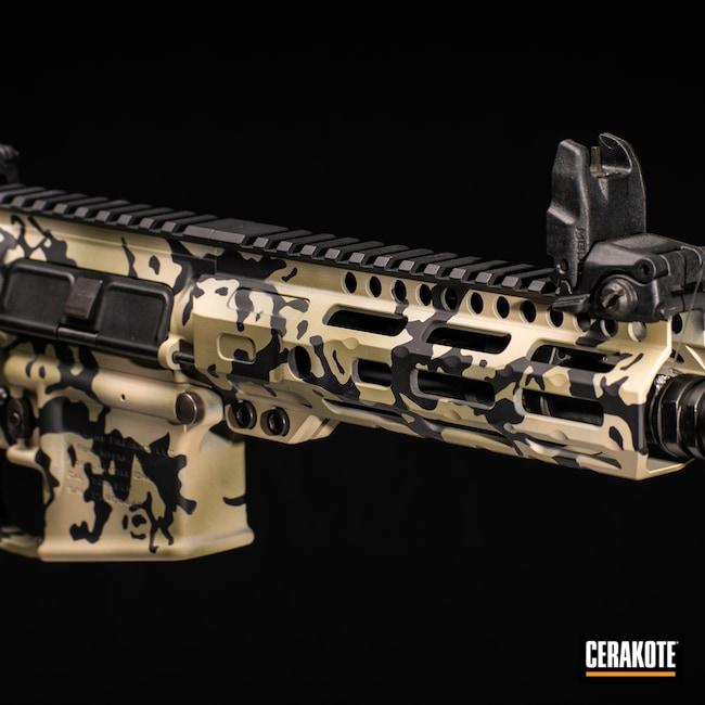 Cerakoted: S.H.O.T,FS BROWN SAND H-30372,Graphite Black H-146,AR,Firearm,stilio,Camo,Forest Green H-248,Custom Camo,AR-15