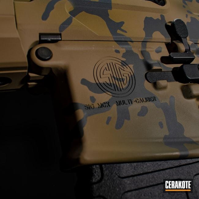 Cerakoted: S.H.O.T,9mm,MPX,Graphite Black H-146,MULTICAM® OLIVE H-344,stilio,Camo,Sig Sauer,Sig,A.I. Dark Earth H-250,Custom Camo,MULTICAM® DARK GREEN H-341