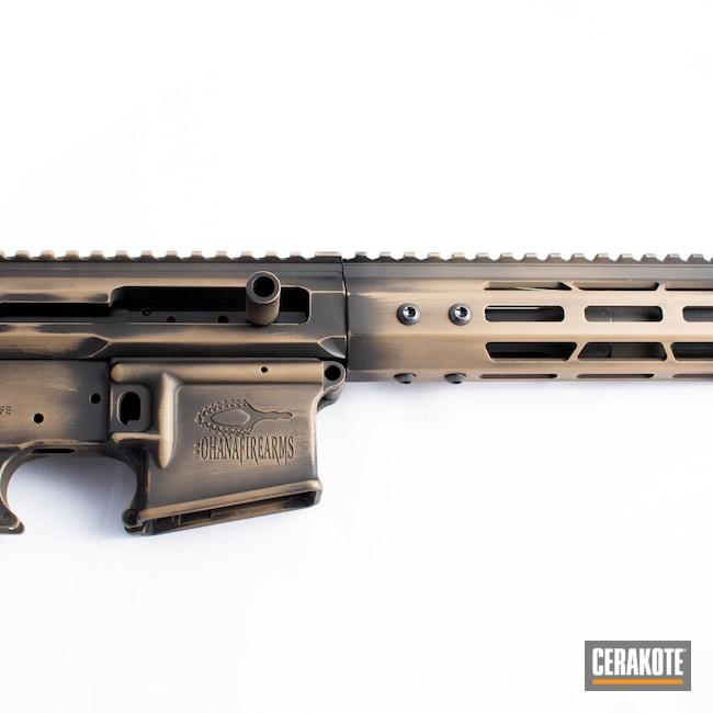 Cerakoted: S.H.O.T,MAGPUL® FLAT DARK EARTH H-267,Battleworn,Graphite Black H-146,Firearm,AR-15