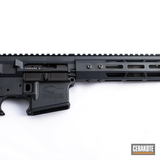 Cerakoted: S.H.O.T,MAGPUL® STEALTH GREY H-188,Firearm,AR-15