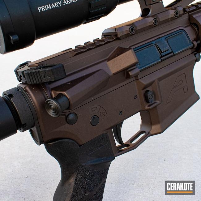 Cerakoted: S.H.O.T,BARRETT® BRONZE H-259,VORTEX® BRONZE H-293,AR,Firearm,AR-15