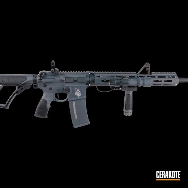 Cerakoted: S.H.O.T,Sniper Grey H-234,Armor Black H-190,5.56,AR Build