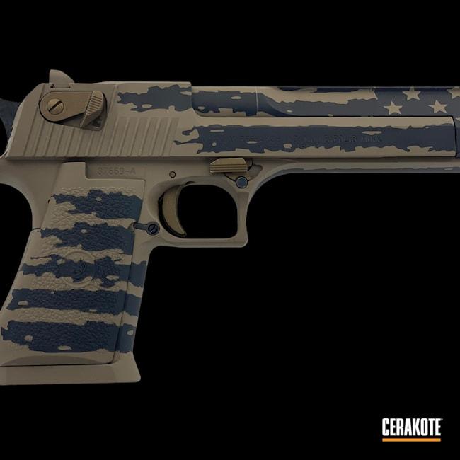 Cerakoted: S.H.O.T,Desert Eagle,MAGPUL® FLAT DARK EARTH H-267,Burnt Bronze H-148,Armor Black H-190,44 Magnum