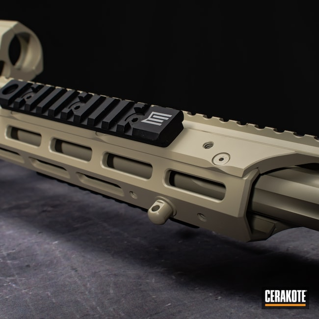 Cerakoted: S.H.O.T,Precision Rifle,FS BROWN SAND H-30372,Bolt Action,Firearm,Savage