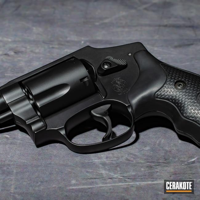 Cerakoted: S.H.O.T,Graphite Black H-146,Smith & Wesson,Revolver,Firearm
