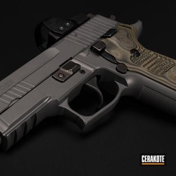 Sig Sauer P229 Cerakoted Using Sig™ Dark Grey