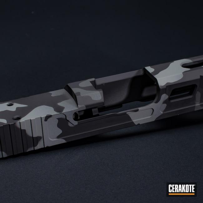 Cerakoted: S.H.O.T,Graphite Black H-146,Firearm,Camo,Glock,Bull Shark Grey H-214,SIG™ DARK GREY H-210,Urban Camo,Glock 43