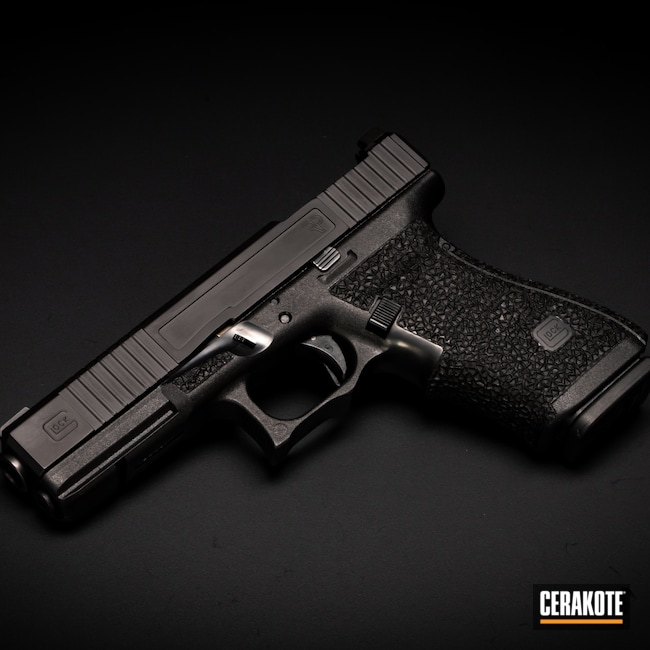 Cerakoted: S.H.O.T,Graphite Black H-146,Firearm,Glock