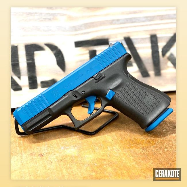 Cerakoted: S.H.O.T,Glock 19,Custom Glock,Glock,Sky Blue H-169