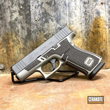 Cerakoted Glock 43x In H-234 And H-262