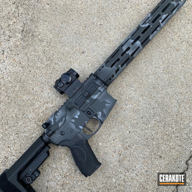 Cerakoted: Graphite Black H-146,Smith & Wesson,.223,5.56,AR-15
