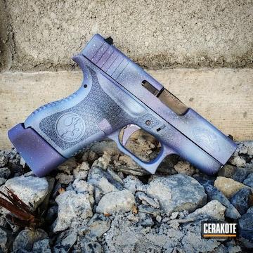 Cerakoted Star Wars Galaxy Themed Handgun