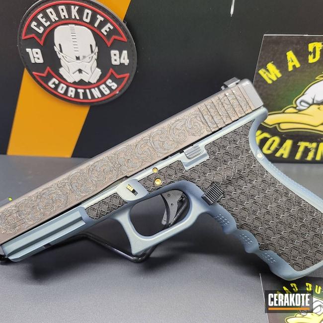 Cerakoted: Laser Stippled,.45,Glock 21,NORTHERN LIGHTS H-315,Glock,Handguns