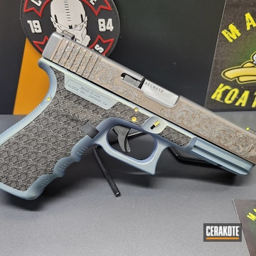 Cerakoted Glock In H-315