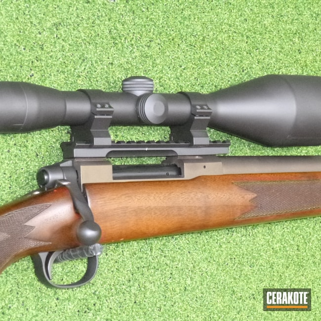 Cerakoted: Rifle,22.250,Stainless H-152,M55,Make Old New Again,Tikka