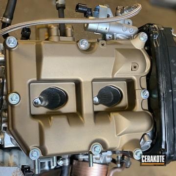 Cerakoted Subaru Valve Cover In C-148