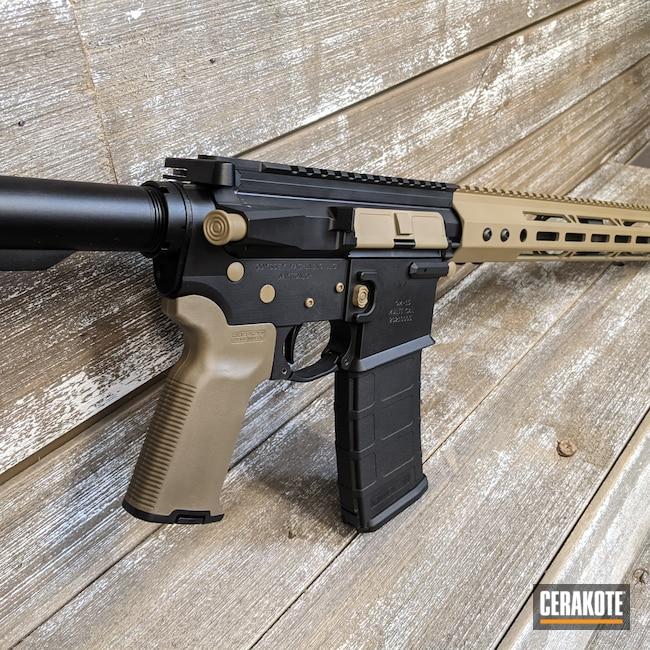 Cerakoted: S.H.O.T,Coyote Tan H-235,Graphite Black H-146,AR,AR-15