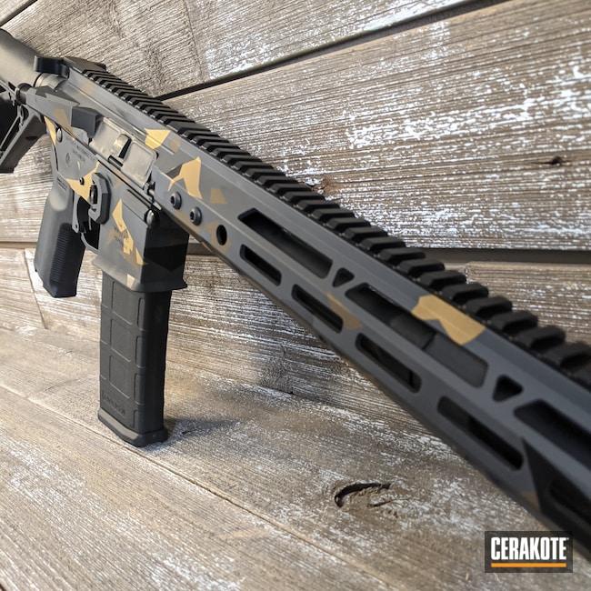 Cerakoted: S.H.O.T,Sniper Grey H-234,Graphite Black H-146,AR,Burnt Bronze H-148,Gold H-122,AR-15