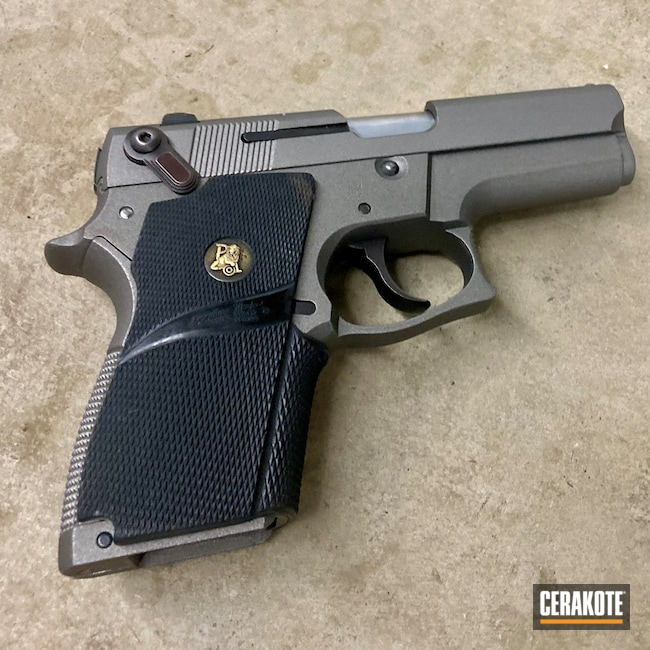 Cerakoted: S.H.O.T,Smith & Wesson,Stainless H-152,Pistol,M&P Shield EZ,Semi-Auto