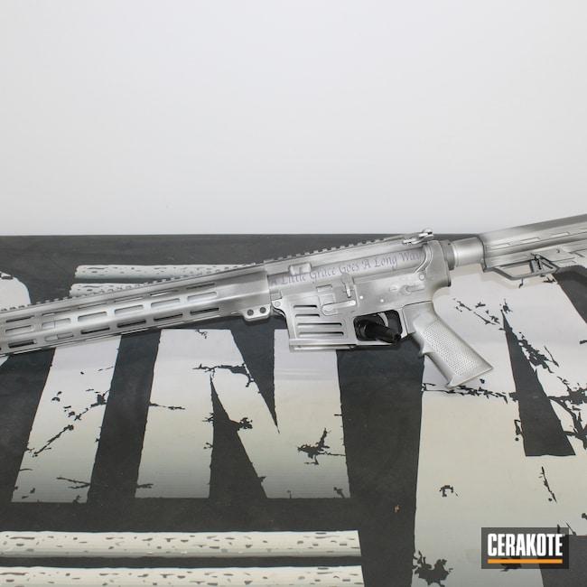 Cerakoted: S.H.O.T,Unique,Distressed,Tungsten H-237,80%,Battleworn,AR,Bright Purple H-217,Worn,Satin Aluminum H-151,Business,Custom AR,Daughter