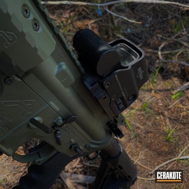 Cerakoted: S.H.O.T,Aero Precision,MagPul,Mil Spec O.D. Green H-240,Green,EOTech,5.56,Custom AR,AR-15