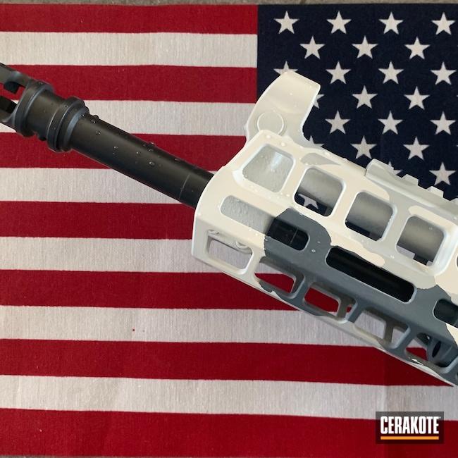 Cerakoted: S.H.O.T,MAGPUL® STEALTH GREY H-188,Demonic,Stormtrooper White H-297,Arctic Camo,Chopper,GLOCK® GREY H-184,AK-47,BATTLESHIP GREY H-213,Shadeaux,Conflict Series