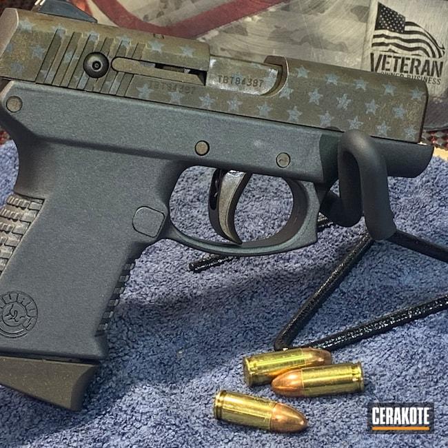 Cerakoted: S.H.O.T,9mm,Tungsten H-237,Taurus,Shadeaux,Midnight Bronze H-294