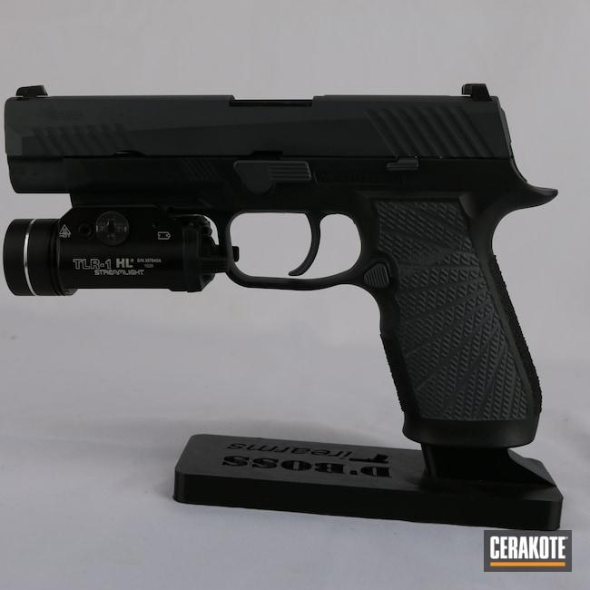 Cerakoted: S.H.O.T,Stone Grey H-262,P320,Firearm,Pistol,Sig Sauer