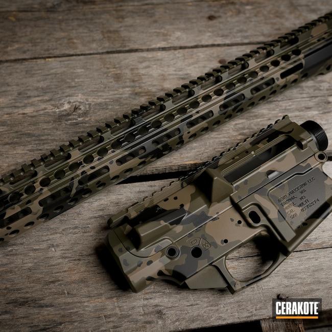 Cerakoted: S.H.O.T,Armor Black H-190,O.D. Green H-236,Flat Dark Earth H-265