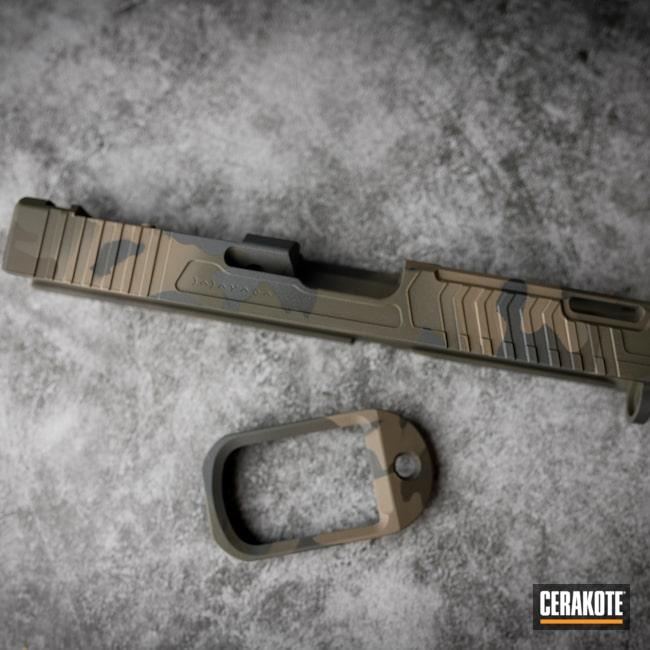 Cerakoted: S.H.O.T,Armor Black H-190,O.D. Green H-236,Sniper Grey C-239,Flat Dark Earth H-265