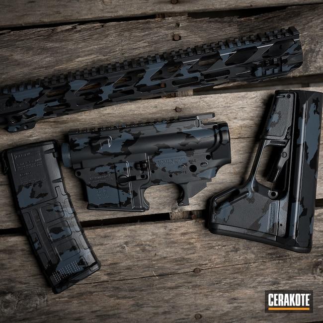 Cerakoted: S.H.O.T,Sniper Grey H-234,Armor Black H-190,MULTICAM® DARK GREY H-345