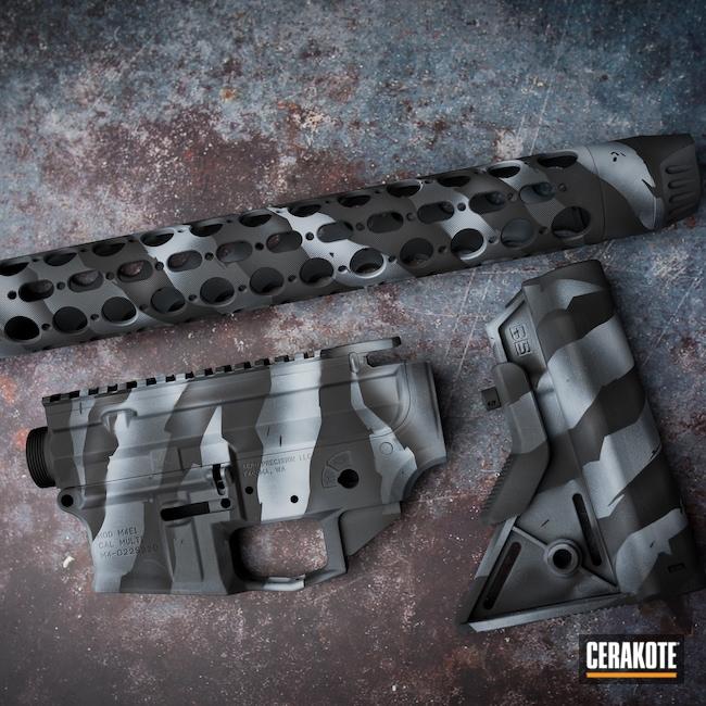 Cerakoted: S.H.O.T,Sniper Grey H-234,Armor Black H-190,BATTLESHIP GREY H-213
