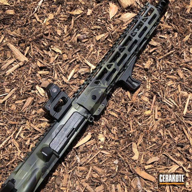 Cerakoted: S.H.O.T,Graphite Black H-146,AR,AR Upper